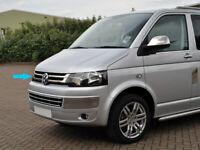 Chrome Front Grill 2 pcs S.STEEL VW T5 Transporter Caravelle Multivan 2010-2015