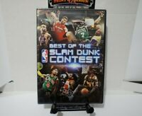 BEST OF THE NBA SLAM DUNK CONTEST   NEW DVD FREE SHIPPING!!!