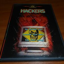 Hackers (DVD,Widescreen 1998) Jonny Lee Miller, Angelina Jolie Used OOP