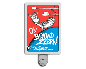 On Beyond Zebra! Dr. Seuss Cover Night Light