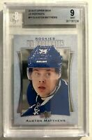 2016-17 Upper Deck Auston Matthews UD Portraits #P-110  Rookie BGS 9 MINT