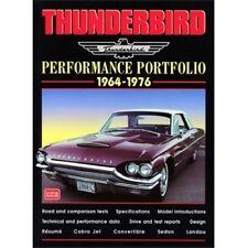 Thunderbird Performance Portfolio 1964-1976 book paper