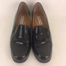 ec7fec9e828 Unisa Womens Black Patent Leather Loafers Flats Size Size 8B