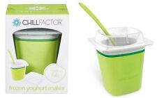 Chill Factor Yo Tub Frozen Yogurt Maker - Freeze, Squeeze & Enjoy, Green Tea