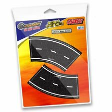 PlayTape Pack of 4 2� Tight Curves Pack Road Car Tape Stick to Floors