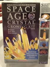 Space Age Crystal Growing Kit Citrine Geode Topaz No . 662