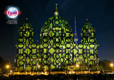 3 -D - Wackelkarte: Berlin - Festival of Lights: Berliner Dom