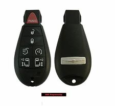 New Uncut Replacement Key Fob Keyless Entry Remote Transmitter Fobik 7 Button
