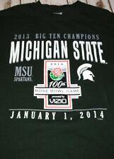 67370903 Michigan State Spartans Football Champions Long SleeveT-Shirt size M Men's