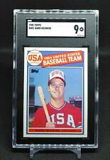 Mark McGwire 1985 Topps #401 RC Rookie MINT SGC 9