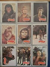 1975 Topps Planet Of The Apes Vintage Trading Card Lot Partial Set 45/66