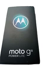 Motorola Moto G8 Power Lite - 64GB - Arctic Blue (Unlocked) (Dual SIM)