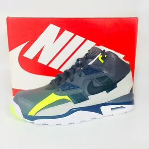 Nike Air Trainer GS Shoes Boy's Dark Grey / Black / Midnight Navy CJ0580-001 NEW