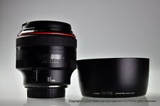 * Near MINT * Canon EF 85mm f/1.2L USM