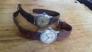 Mens gents vintage military railway Roamer watch and other watch joblot