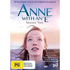 ANNE WITH AN E (DVD, 3-Disc) BRAND NEW / SEALED - Region 4