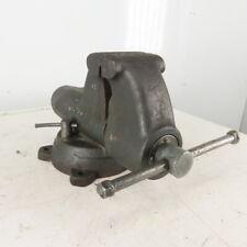 Wilton C2 101059 5 Vintage Bench Mount Combination Swivel Bullet Vise 8 Open