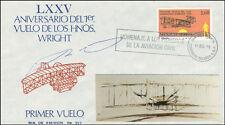 ROBERTO FIERRO VILLALOBOS - COMMEMORATIVE ENVELOPE SIGNED