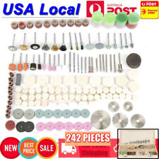 242Pcs Rotary Tool Accessories Bit Set Polishing Kit For Dremel