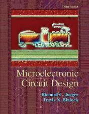Microelectronic Circuit Design, Richard Jaeger, Travis Blalock, Excellent Book