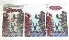 SDCC 2018 The Amazing Spider-Man #799 Variant Cover Set Signed Joseph M Linsner