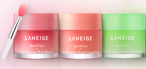 LANEIGE Lip Sleeping Mask Berry/Grapefruit/Apple Lime/Mint Choco 20g [US SELLER]