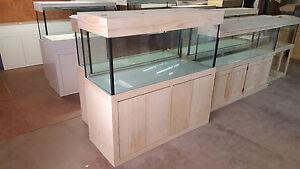 Aquarium 5ft x 2ft x 2ft -Fish Tank Cabinet & Flat Hood *Modern Style* Brand New