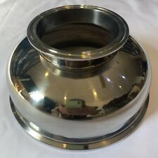 "Bowl Reducer Tri Clamp / Tri Clover 4"" to 8"" 10"" 12"" Stainless Steel 304"