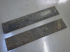"""Model T Ford original steel running boards script 44-3/4"""" long"""
