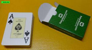 FOURNIER - 100% Plastik Casino POKER Karten - Großer Index - NEU/OVP - Top Preis