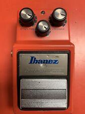 Vintage Original Circa 1983 Ibanez Cp9 Compressor Red Electric Guitar Pedal