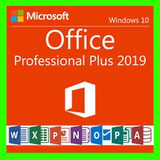 Microsoft Office Professional Plus 2019 Key Lizenzschlüssel / MS Office 2019 Pro