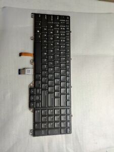N7KJD Dell Keyboard Black Alienware 17 R5 AW17R5-7108SLV-PUS AW17R5-7811BLK-PUS