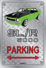 Parking Sign - Metal - Holden Torana SLR 5000 GREEN -  ORIGINAL RIMS