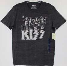 Lucky BRAND Men's Graphic Kiss Group Band Short Sleeve T Shirt Large