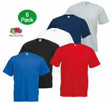 Basic Loose Fit Regular Size T-Shirts for Men with Multipack
