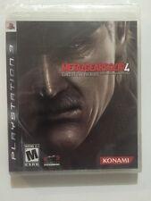 Metal Gear Solid 4: Guns of the Patriots (PlayStation 3, 2008) CIB Sealed