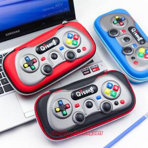 Cute Cartoon Box 3D Game Console Handle Pen Bag Creative Hard Shell Pencil Box