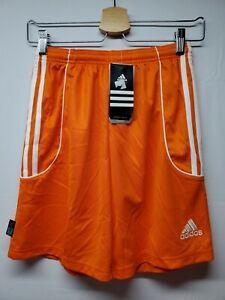Adidas Squad II Women's Large ClimaLite Orange and White Soccer Shorts