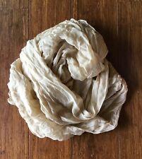 anthropologie 100% SILK scarf ⚘ shawl WRAP spring birthday GIFT