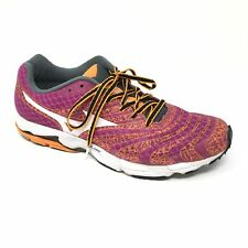 Women's Mizuno Wave Sayonaro 2 Shoes Sneakers Size 9 Running Purple Orange K6