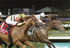 JOSE LEZCANO Signed 8x12 Photo RON THE GREEK Churchill Downs Breeders Cup Jockey