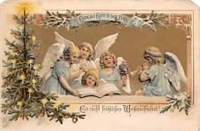 """Ehre sei Gott in der Hoehe"" Christmas Tree, Angels Cherubs Carol Music Song"
