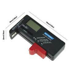 BT168D Smart LCD Digital Battery Tester Electronic Measure Battery Power U3W0