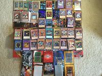 Yu-Gi-Oh! Collection Yugioh Cards Lot 50+ Cards Secret Holo Rare Free Shipping