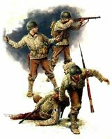 US Infantry (3rd July 1944) (4 Figures), WWII era  1/35 MasterBox 3521