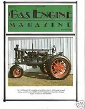 Cummins Model F Engine, IHC Famous GAS ENGINE magazine