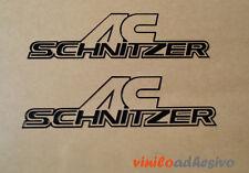 PEGATINA STICKER VINILO AC Schnitzer autocollant aufkleber