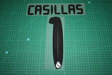 Real Madrid 10/11 #1 CASILLAS Homekit Nameset Printing