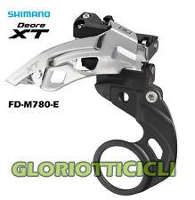 SHIMANO - DERAGLIATORE MTB XT FD-M780-E TOP SWING TRIPLA